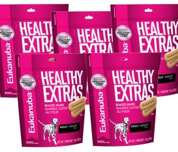 5 Pack Eukanuba Healthy Extras Razas Grandes