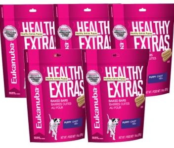 5 Pack Eukanuba Healthy Extras Cachorro