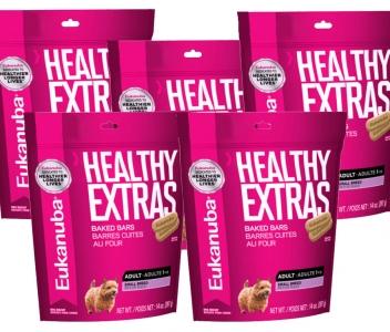 5 Pack Eukanuba Healthy Extras Razas Pequeñas