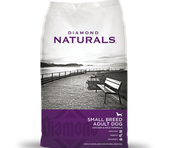 Diamond Naturals Adulto Razas Pequeña Sabor Pollo y Arroz (Small Breed Adult Dog C&R)